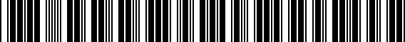 Barcode for 3G0071497B8Z8