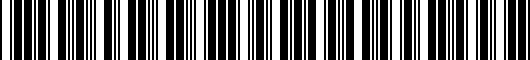 Barcode for 5K00714968Z8