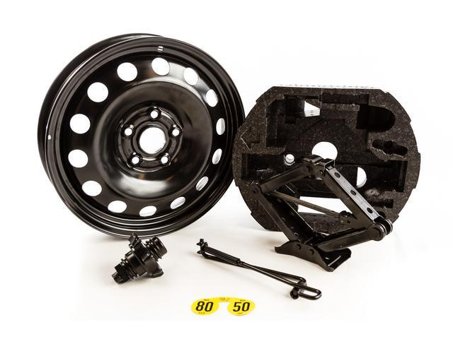 Diagram Spare Tire Kit (Excludes Tire) - Black (NPN071053) for your Volkswagen GTI